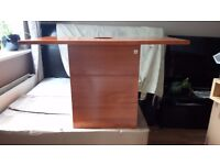 CRW Gloss Oak 1 Drawer 1 Door Bathroom Cabinet 900x460x540 RRP £199