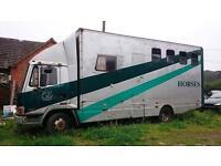 Leyland daf horse box 7.5 tonne