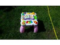 Leapfrog learn and groove musical activity table pink