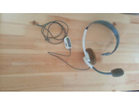 OFFICIAL xBox 360 Live Online Chat Headset with Mic Gaming Headphones 2.5mm AUX