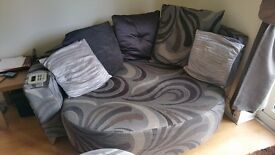 Round Sofa with speakers