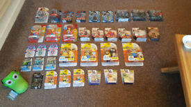 Huge Collection of Brand New Boxed Toys & Figures. Including Minions, Spiderman, Marvel, Disney etc.