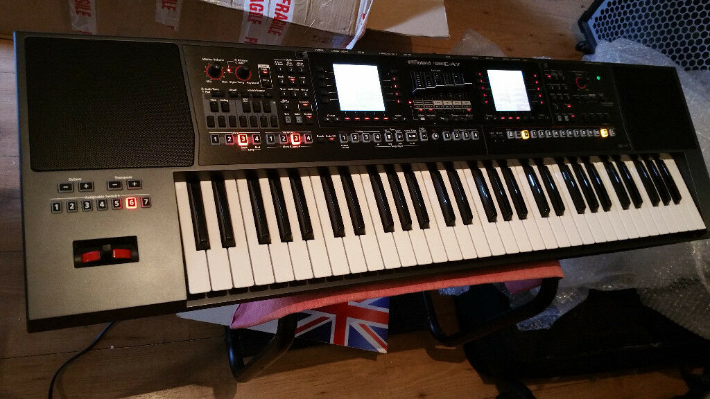 Roland E-A7 In the factory packaging Two months after the purchase    in  Charlton, London   Gumtree