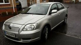 toyota avensis T2 1.8 petrol 2004 m.o.t October