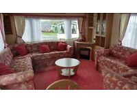 2003 DOUBLE GLAZED AND CENTRAL HEATED CARAVAN FOR SALE