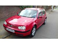 2003 VW GOLF 1.6 16V GREAT DRIVE SERVICE HISTORY
