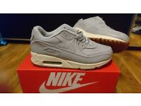 Mens Womens Nike Air max force 90 95 97 serpent grey size 6,7,7.5 Trainers shoes adidas air jordan