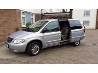 Crysler grand voyager 51 plate low mileage automatic 7/8 seater great condition part history
