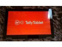 "Virgin Media used 2 weeks Telly Tablet android 6.0 massive 14"" good price"