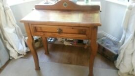 Unusual console/bedroom dressing table
