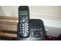 BT twin cordless phones with answering machine