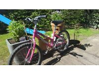 Girls 'Raleigh Crush' Bike - good condition, suit 7-10 year old
