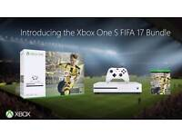 Xbox one with fifa 17 - new and sealed
