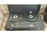 NJD Electronics Disco Star Vintage decks with speakers