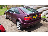vw corrado vr6 blackberry metallic