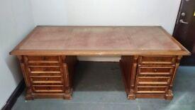 Iranian handmade wooden table / desk
