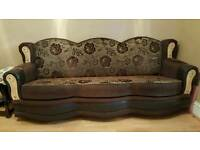 Modern design settees x2