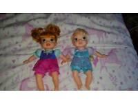 Frozen soft bodied baby dolls