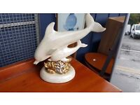 White Dolphin Mantlepiece Ornament