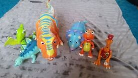 Interactive dinosaurs, dinosaur train