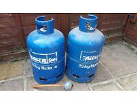 15kg Calor gas bottles.