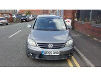 2005 (55 reg), Hatchback Volkswagen Golf Plus 2.0 TDI PD GT 5dr £2,195 p/x welcome