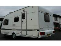 2004 abbey adventurer 320 4 berth caravan