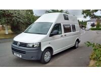VW T5 Transporter high roof / top camper 2010 4-berth low mileage