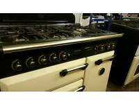Rangemaster 90cm gas cooker range fully reconditioned