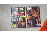 WWF Official Annuals number 2 and 3 1992/1993 WWE