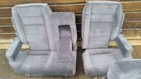 Range Rover Classic Rear Seat Set - 80's High Back 60/40 Re-covered