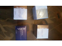 Anew 4x creams, eye and lip, 2x intensive age treatment and face lifting creams new + still wrapped