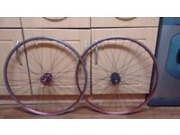 700c single speed/Fixie wheelset