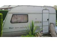 Abbey Piper 12.2 Ex 2 Berth Caravan