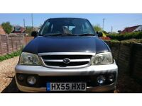 Daihatsu Terios 1.3 sport. Good condition for age, clean and tidy car with plenty of room