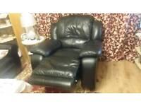 Black Recliner Armchair