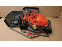 Flymo 32cm corded lawnmower
