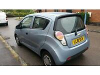 2011 Chevrolet Spark 1.0 petrol long mot £30 road tax per year