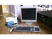 Keyboard, Mouse,Monitor Bundle