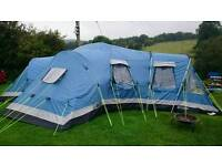 Outwell Georgia XL 8 man tent