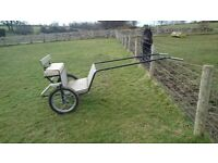Exercise cart, to suit approx 12.2 - 13.2, well built and comfortable.