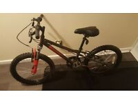 """Two Kids Apolo Bikes 20"""" Black-Red 18"""" Dark Green With Locks , Front Lights With Batteries"""