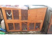 2 Storey Large Rabbit Hutches For Sale, with Thermal Covers