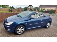 Peugot 206 CC 1.6 Allure, Fully Automatic Hard Top Roof, Alloy Wheels , Full Leather Interior,