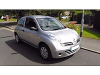2006 Nissan Micra 1.2 16v Initia 3 dr Excellent Condition,just like new