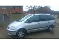 CHEAP RUNABOUT CAR 2005 FORD GALAXY MPV TDI AUTOMATIC DIESEL 6 SEATS EX TAXI