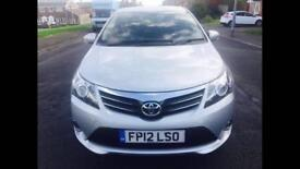 Toyota avensis Automatic Diesel year 2012 millege 130000
