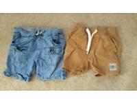 Zara baby & Next shorts 9-12m