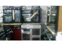 Range Cookers Gas and Electric and Due feul new never used offer sale from £349