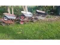 6 wheel barrows